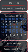 Conky calendrier+mail+apt French