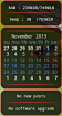 Conky calendar+mail+apt English